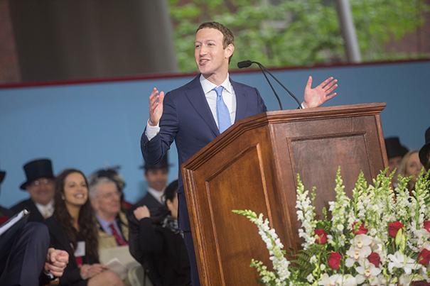 Motivacioni govor Mark Zuckerberga : Čak su i globalne promjene počele od malih