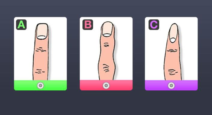 Saznajte šta oblik vašeg prsta govori o vašoj ličnosti