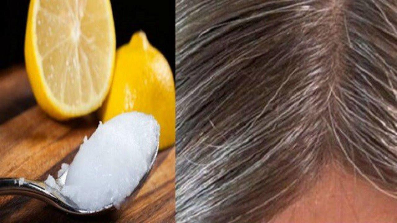 Smjesa kokosovog ulja i limuna  – Sijedoj kosi vraća PRIRODNU boju!