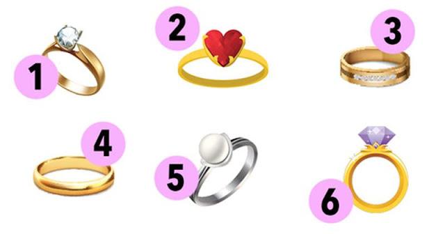 Izaberite jedan od ovih nevjerovatnih prstenova i otkrijte nešto lijepo o vašoj ličnosti!