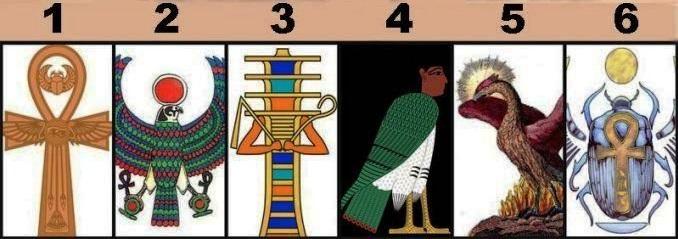Egipatski test ličnosti : Izaberite jedan egipatski hijeroglif i otkrijte šta govori o vama