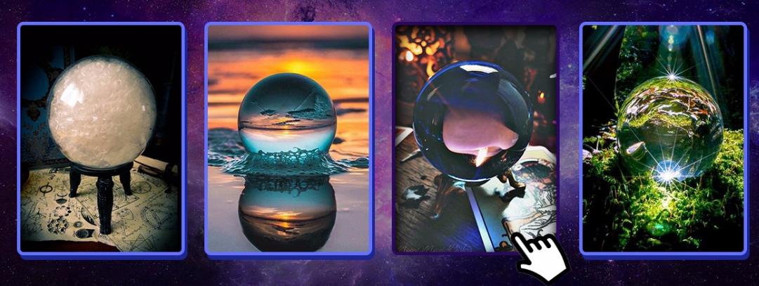 Izaberite jednu kristalnu kuglu i otkrijte kakva vas sudbina očekuje !