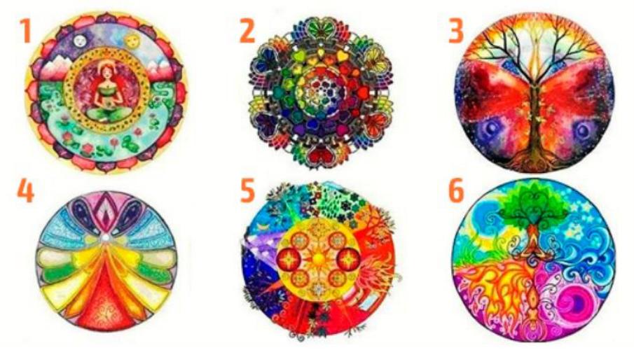 Izaberite jednu od ovih mandala i otkrijte poruku nose  za vas