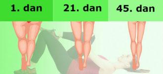 Tri minuta pre spavanja: lake vežbe koje će vaše noge učiniti vitkijim