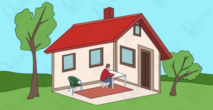 Test ličnosti : Odgovorite da li je ovaj čovjek u kući ili izvan kuće?