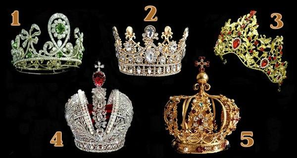 Izaberite jednu krunu i otkrijte tajno značenje za vašu budućnost