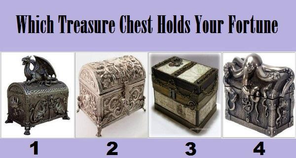 Izaberite jedan kovčeg s blagom i otkrijte nešto o svojoj budućnosti